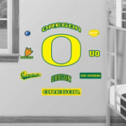 Fathead Oregon Ducks Team Logo Assortment Wall Graphic