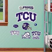 Fathead TCU Horned Frogs Team Logo Assortment Wall Decals