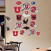 Fathead Utah Utes Team Logo Assortment Wall Decals