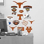 Fathead Texas Longhorns Team Logo Assortment Wall Graphic