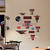 Fathead Texas Tech Red Raiders Team Logo Assortment Wall Decals