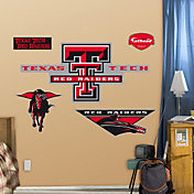 Fathead Texas Tech Red Raiders Logo Wall Decal