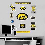 Fathead Iowa Hawkeyes Team Logo Assortment Wall Graphic