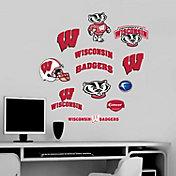 Fathead Wisconsin Badgers Team Logo Assortment Wall Graphic