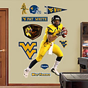 Fathead Pat White West Virginia Mountaineers Wall Decal