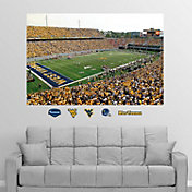 Fathead West Virginia Mountaineers Milan Puskar Stadium Mural