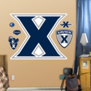 Fathead Xavier Musketeers Logo Wall Decal