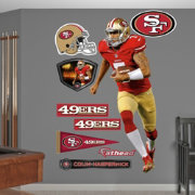 Fathead Colin Kaepernick #7 San Francisco 49ers Real Big Wall Graphic