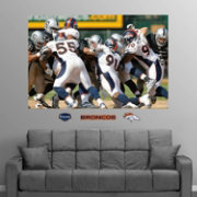 Fathead Denver Broncos Defense In Your Face Mural Wall Graphic