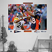 """Fathead Demaryius Thomas """"In Your Face"""" Wall Graphic"""
