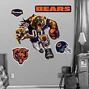 Fathead Chicago Bears Bruiser Bear Wall Graphic