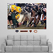 Fathead Chicago Bears/Green Bay Packers Line of Scrimmage Wall Graphic