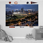 Fathead Chicago Bears Soldier Field Skyline Wall Graphic