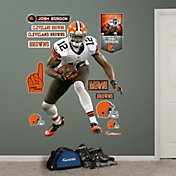 Fathead Josh Gordon #12 Cleveland Browns Real Big Wall Graphic