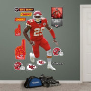 Fathead Eric Berry #29 Kansas City Chiefs Real Big Wall Graphic