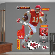 Fathead Alex Smith # Kansas City Chiefs Real Big Wall Graphic