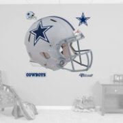 Fathead Dallas Cowboys Helmet Logo Wall Graphic