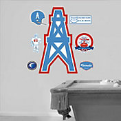 Fathead Houston Oilers Original AFL Logo Wall Graphic