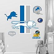 Fathead Detroit Lions Classic Logo Wall Graphic