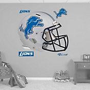 Fathead Detroit Lions Helmet Logo Wall Graphic