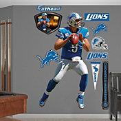 Fathead Matthew Stafford #9 Detroit Lions Real Big Wall Graphic