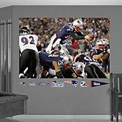 Fathead Tom Brady Diving Touchdown Mural Wall Graphic