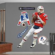 Fathead Tom Brady #12 New England Patriots Throwback Real Big Wall Graphic