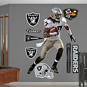 Fathead Denarius Moore #17 Oakland Raiders Real Big Wall Graphic