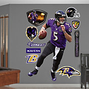 Fathead Joe Flacco #5 Baltimore Ravens Real Big Wall Graphic