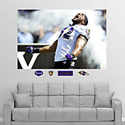 "Fathead Ray Lewis ""In Your Face"" Wall Graphic"