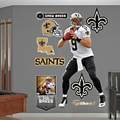 Fathead Drew Brees #9 New Orleans Saints Real Big Wall Graphic