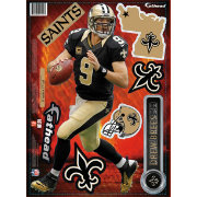 Fathead New Orleans Saints Drew Brees Teammate Player Wall Decal