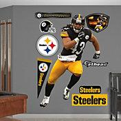 Fathead Troy Polamalu #43 Pittsburgh Steelers Real Big Wall Graphic