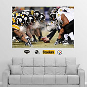 Fathead Pittsburgh Steelers/Baltimore Ravens Line of Scrimmage Wall Graphic