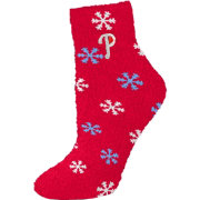 Philadelphia Phillies Snowflake Socks