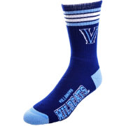 Villanova Wildcats 4-Stripe Crew Socks