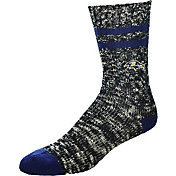 For Bare Feet Baltimore Ravens Alpine Socks