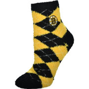 Boston Bruins Argyle Crew Socks