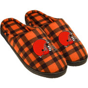 Forever Collectibles Cleveland Browns Flannel Cup Sole Slippers
