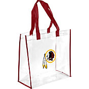 Forever Collectibles Washington Redskins Clear Reusable Bag