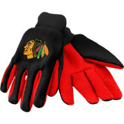 Forever Collectibles Adult Chicago Blackhawks Work Gloves