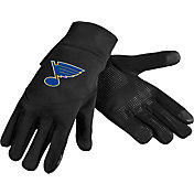 Forever Collectibles St. Louis Blues Text Gloves