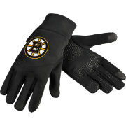 Forever Collectibles Boston Bruins Text Gloves