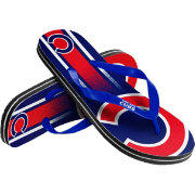Forever Collectibles Youth Chicago Cubs Big Logo Flip Flops
