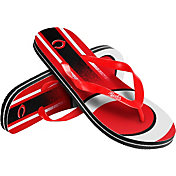 Forever Collectibles Youth Cincinnati Reds Big Logo Flip Flops