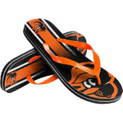 Forever Collectibles Youth Baltimore Orioles Big Logo Flip Flops