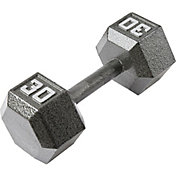 Fitness Gear 30 lb Cast Hex Dumbbell