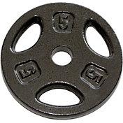 Fitness Gear 5 lb Standard Cast Plate