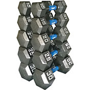 Fitness Gear Cast Hex 10-30 lb Dumbbell Set