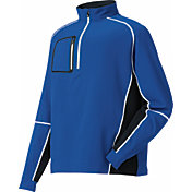 FootJoy Men's Performance Wind Shell Mid Layer Golf Pullover